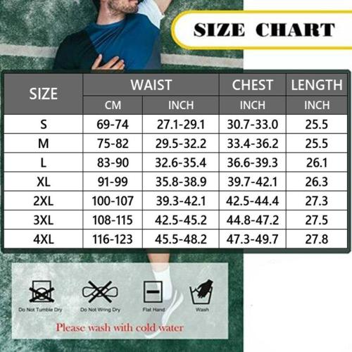 Men's Waist Trainer Vest for Weight Loss Compression Slimming Body Shaper Sauna Tank Top with Zipper Gym Sweat Shirt Shapewear