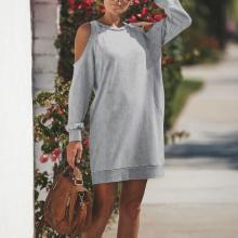Long Sleeve Sexy Dress Hoodies