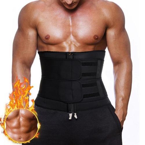 Waist Trainer Corset for Men Body Shaper Slim Waist Tummy Shaper Sauna Sweat Effect Weigh Loss Fat Burning Sport Girdles Cincher