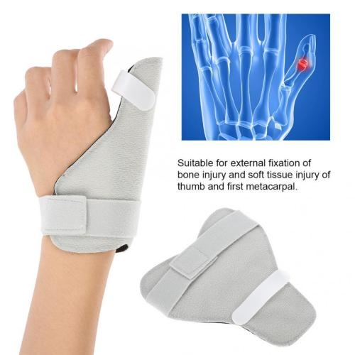 Adjustable Breathable Thumb Splint Finger Brace Hand Support Fracture Injury Stabilizer Pain Relax Finger Thumb Brace Support