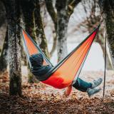 Ultralight Outdoor Camping Hammock Sleep Swing Tree Bed Garden Backyard Furniture Hanging Chair Hangmat  270*140cm