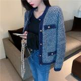Loose All-Match Knitted Stylish Cardigans New Elegant Fashion High Quality Soft Chic Sweet Women Sweaters