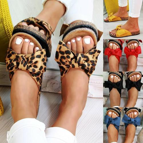 Summer Slip On Sliders Flatform Comfy Slippers