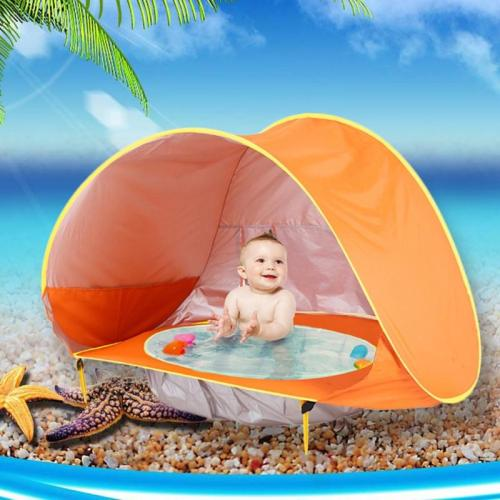 Baby Beach Tent Portable Waterproof Build Sun Awning UV-protecting Tents Kids Outdoor Traveling Sunshade Play House Toys