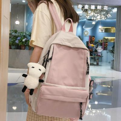 Women Waterproof Nylon Backpack Fashion Book Ladies School Bag Kawaii Girl Harajuku Backpack Cute Student College Bag Female New