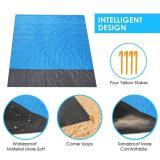 210 * 200cm Folding Camping Carpet Pocket Blanket Waterproof Beach Mat Outdoor Portable Picnic Mat Camping Bed Sleeping Pad