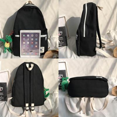 Women Canvas Cute Backpack Student Dinosaur Ladies School Bag Girl Luxury Kawaii Backpack Harajuku Female Fashion Bag Book Brand