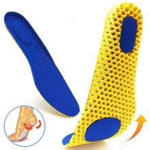 Memory Foam Insoles For Shoes Sole Mesh Deodorant Breathable Cushion Running Insoles For Feet Man Women Orthotic Insoles