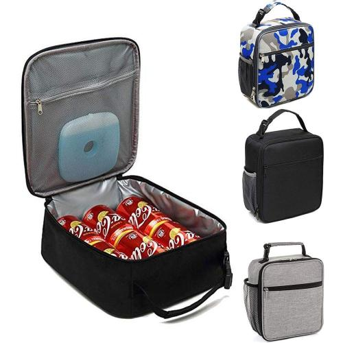 Outdoor Camping Insulated Lunch Bag Coolbag Picnic Bag Adult Kids Hiking Food Storage Supplies