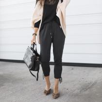 Fashion Straight Leg Harem Pants