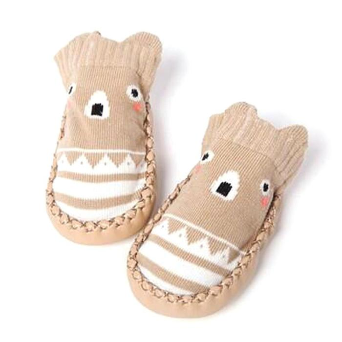 Infant First Walkers Cartoon Baby Shoes Cotton Newborn Shoes Soft Sole Autumn Winter Toddler Shoes for Baby Girl Boy