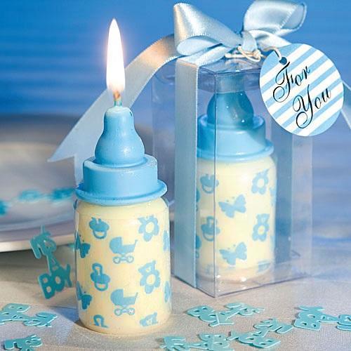 Baby's Bottle Weeding Candle