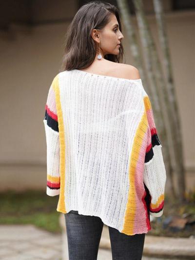 Knitting Split-joint Hollow Beach Cover-ups Swimwear