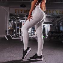 Breathe Sweat Jacquard Weave Yoga Sweatpants Leggings