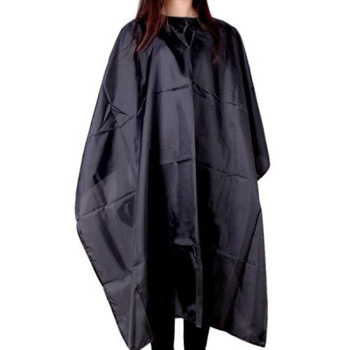 Hot Large Size Kids Adult Hair Cutting Cloth Waterproof Salon Hairdresser Barbers Cape Gown Hair Coloring Haircut Cloth Black