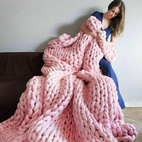 250g/Ball Merino Wool Gaint Yarn Knitting Roving Super Soft Chunky DIY Crochet Thread For Cardigan Scarf Blankets Knitted Yarn