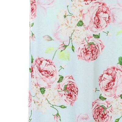 Summer New Fashion Women Pregnant Off Shoulder Photography Props Nursing Boho Chic Print Long Dress