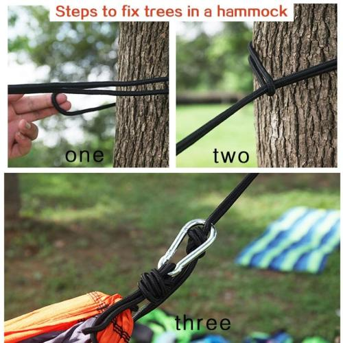 Ultralight Outdoor Camping Hammock Sleep Swing Tree Bed Garden Backyard Furniture Hanging Chair Hangmat  270*140cm