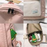 New Trendy Women Cute Backpack Nylon Female Harajuku School Bag Ladies Kawaii Backpack Girl Fashion Book Student Bag Travel 2020