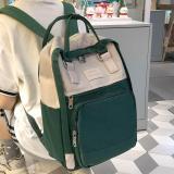 Cute Student Waterproof Backpack Female Women Vintage School Bag Girl ladies Nylon Backpack Harajuku Handle Book Bag Fashion New