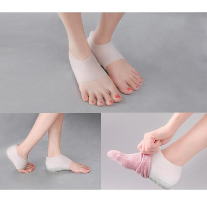Invisible Height Lift Heel Pad Sock Liners Increase Insole Pain Relieve for Women Men insoles orthopedic insoles chaussure homme