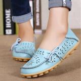 Women Flats Women Genuine Leather Shoes Slip On Loafers Woman Soft Nurse Ballerina Shoes