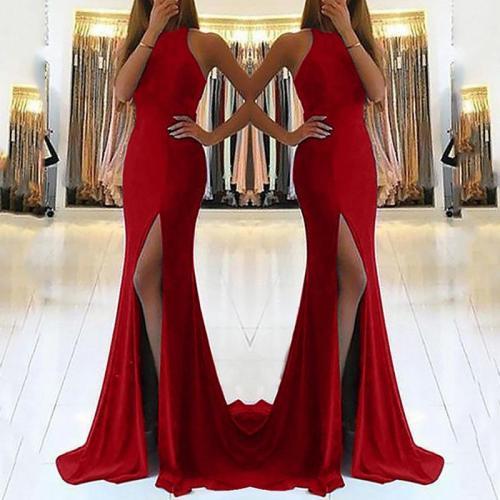 Sexy Cutout Bodycon Evening Dress