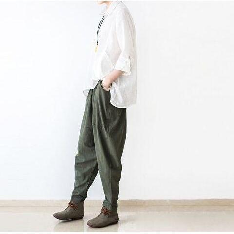 Loose Linen Trousers
