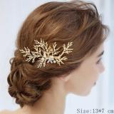 Bridal Hair Comb Clip Headband Wedding Hair Accessories Rhinestone Flower Bridal Hair Accessories Tiara Headband Head Jewelry