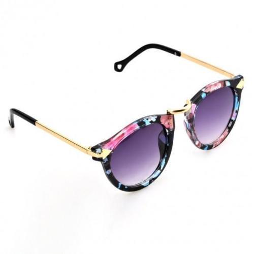Hot Fashion Retro Unisex Glass Full Frame Sunglasses