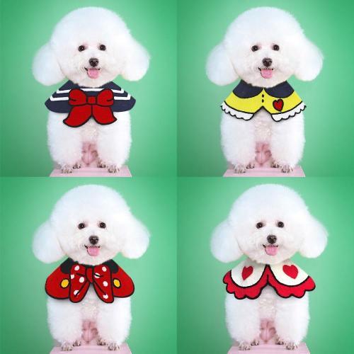 Pet Dog Accessories Dogs Cat Bandana Bowtie Puppy Kitten Bandana Neckerchief Scarf Cat Collar Bibs Pet Supplies for Small Dogs