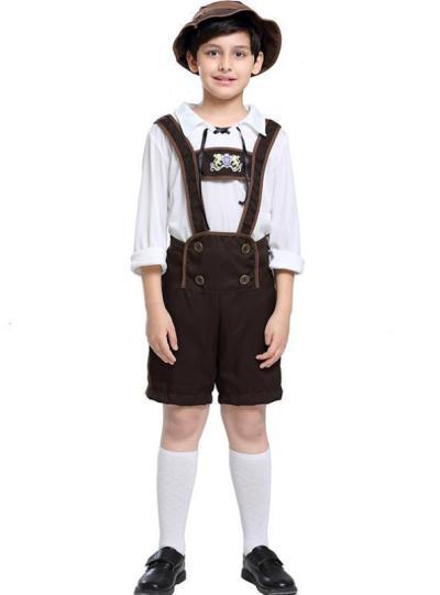 Oktoberfest Boys' Costume Halloween Alpine People