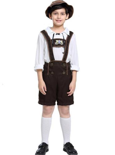 Oktoberfest Boys' Costume Halloween Alpine People