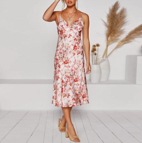 Fashion pajamas strap dress