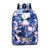 New 2020 Korean Women's Colorful Canvas Backpack Teenage Girls Fashion EXO Bags Harajuku Backpack Rucksacks For School A097