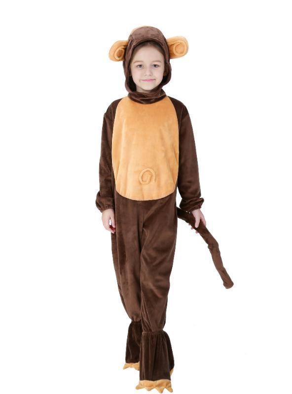 Halloween Costumes Children Monkey Animals