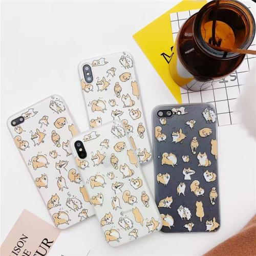 Cute Kawaii Japanese Shiba Dog Phone Case for Dog Lovers