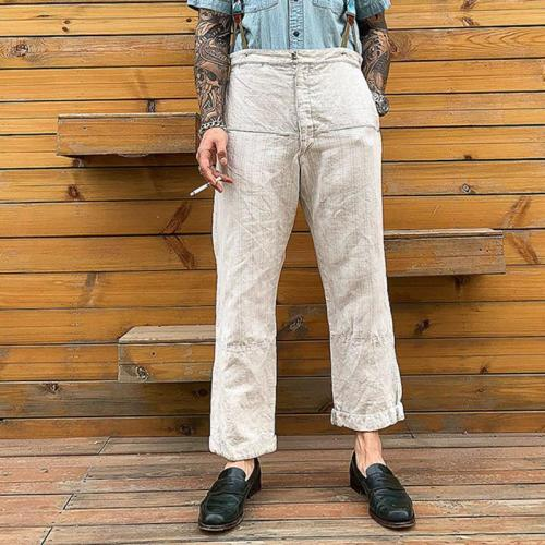 Fashion Men's Pure Colour Pants
