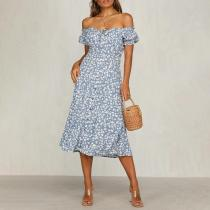 Fashionable temperament French niche dress
