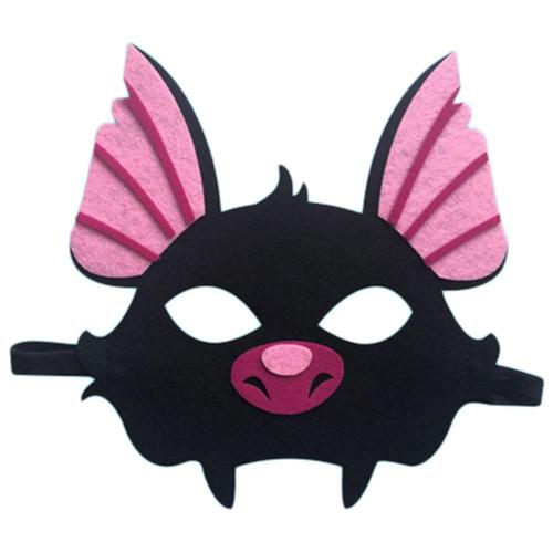 Kids Bat Costume with Mask for Boys Girls Halloween Dress up Party Supplies