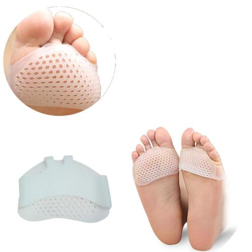 Silicone Soft Pads High Heel Shoes Slip Resistant Protect Pain Relief Foot Care Forefoot Half Yard Invisible Gel Insoles