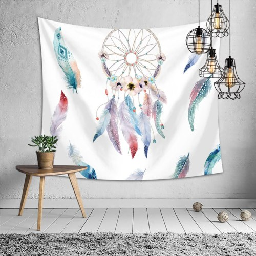 Plant Printing Polyester Tapestry 3D Digital Wall Hanging Tapestries Carpet Yoga Mat Beach Picnic Throw Rug Blanket 150cmx200cm