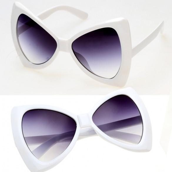 New Fashion Women's European Style Sunglasses Bowknot Frame Big Lens Eyewear Shades Glasses