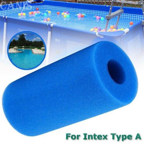 Swimming Pool Filter Filter Sponge for Intex Type A Washable Foam Cartridge Reusable Washable Biofoam Replacement Sponge