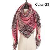 new 2020 women scarf wintet cashmere scarves for lady shawls and wraps pashmina triangle knitted soft neck bandana foulard