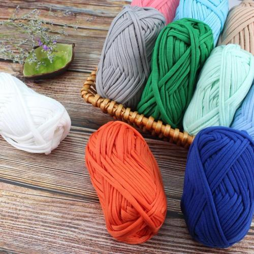 100g/Ball Super Soft Thick Chunky T Shirt Yarn For Knitting Blanket Carpet Handbag Crochet Cloth Yarn