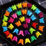20/50/100PC Mixed Color Butterfly Hair Clips Grip Claw Barrettes Mini Clamps Jaw Hairpin Headdress Hair Styling Accessories Tool