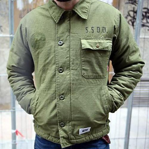 Men's Letter Print Solid Color Jacket