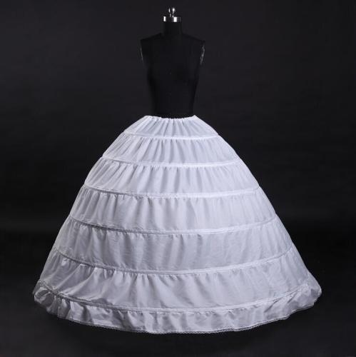 6 Hoops Ball Gown Bridal Wedding Petticoat Marriage Crinoline Underskirt Wedding Accessories Jupon Mariage 2020
