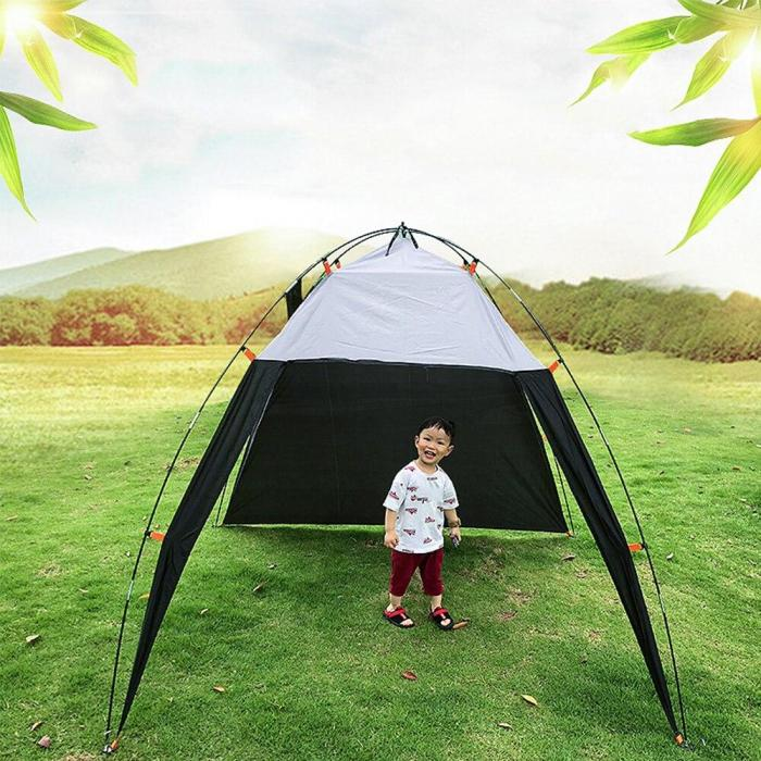 Camping Beach Tent Canopy UV Sun Shade Shelter Triangle Outdoor Camping Tent Hikng UV Protection Pop Up Awning Shelters XA214A